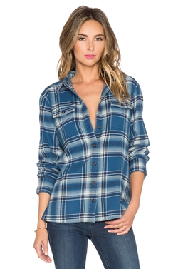 Patagonia - Fjord Flannel Button Up Top