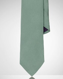 Ralph Lauren - Solid Silk Satin Tie