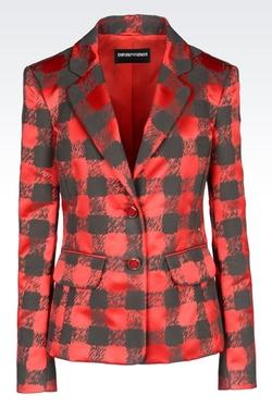 Emporio Armani - Macro Houndstooth Jacket