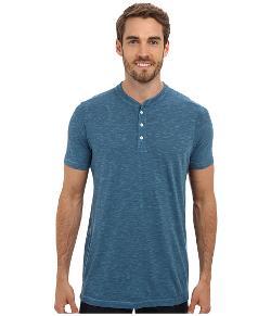 Agave Denim  - S/S Tencel Slub Henley T-Shirt