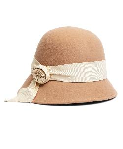 Brooks Brothers - Twisted Knot Wool Cloche