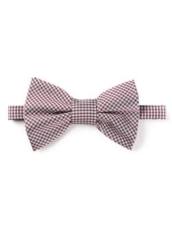 Lanvin - Check Print Bow Tie