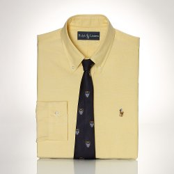 Ralph Lauren - Custom-Fit Luxury Oxford Shirt