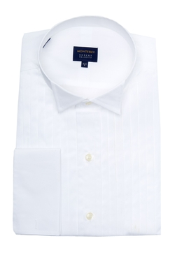 Robert Talbott - Wing Collar Pleated Dress Shirt