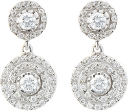 Ileana Makri - Double-Solitaire Drop Earrings