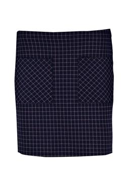 Boohoo - Florence Checked Pocket Mini Skirt