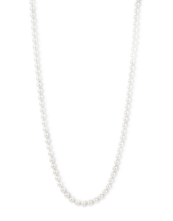 Anne Klein - Long Pearl Necklace