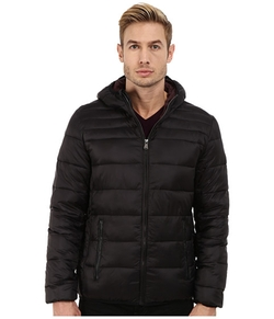 Perry Ellis - Nylon Hooded Puffer