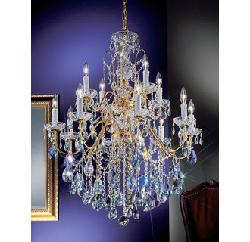 Classic Lighting  - Crystal Chandelier from the Daniele Collection