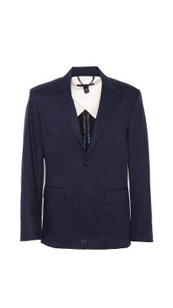 Marc by Marc Jacobs - Harvey Twill 2 Button Blazer