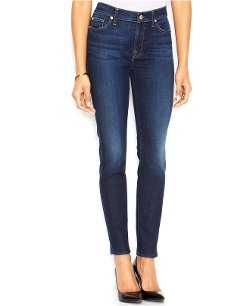 7 For All Mankind - Mid-Rise Ankle Skinny Jeans