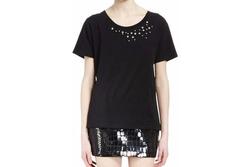 Saint Laurent - Star-Embellished Short-Sleeve T-Shirt