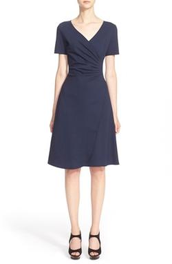 Armani Collezioni - Surplice Jersey Dress