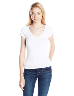 Derek Heart  - Juniors Cap Sleeve V-Neck T-Shirt