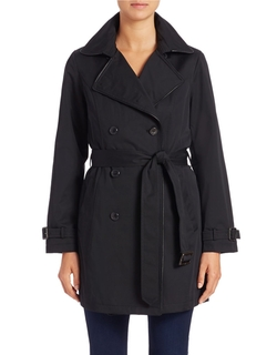 Jones New York  - Belted Trench Coat
