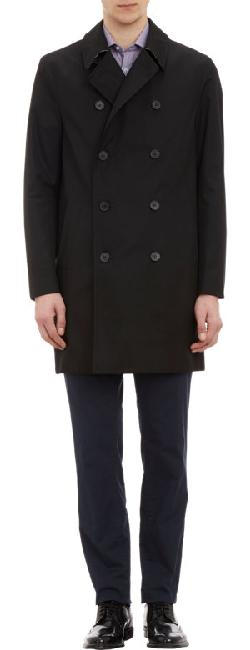 AQUASCUTUM  - Double-Breasted Raincoat