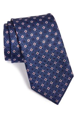 Canali - Medallion Silk Tie
