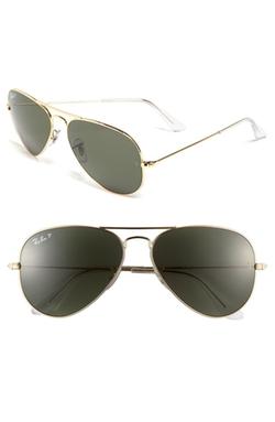Ray-Ban  - Original Aviator Polarized Sunglasses