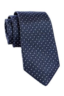 Alara - Micro Diamond Solid Silk Tie