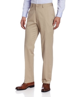 John Henry - Flat Front Modern Fit Twill Pants