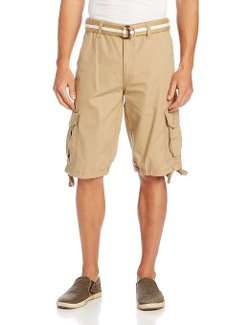 Southpole  - Belted Ripstop Basic Cargo Short
