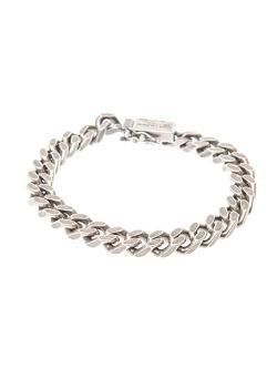 Saint Laurent  - Chunky-chain Sterling-silver Bracelet