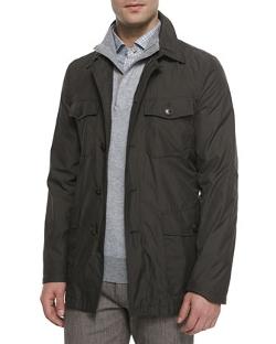 Ermenegildo Zegna - Microfiber Military-Style Safari Jacket