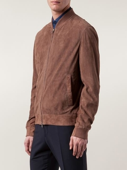 Brunello Cucinelli - Perforated Bomber Jacket
