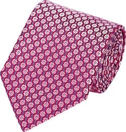 Ermenegildo Zegna  - Geometric Jacquard Necktie