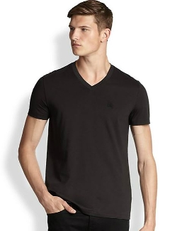 Burberry Brit - Lindon V-Neck Tee Shirt