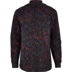 River Island - Floral Print Long Sleeve Shirt