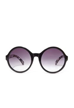 Forever 21 - Round Leopard Print Sunglasses