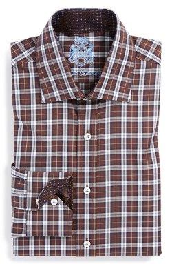 English Laundry  - Trim Fit Plaid Dress Shirt