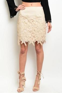 LoveRiche - Erica Embellished Skirt