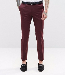 Noose & Monkey - Stretch & Contrast Piping Pants