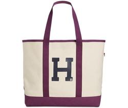 Tommy Hilfiger  - Varsity Large Canvas Tote Bag