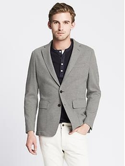 Banana Republic - Tailored-Fit Knit Blazer