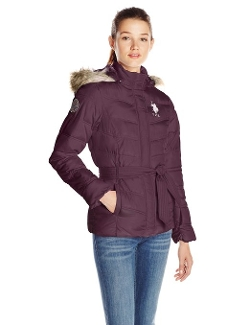 U.S. Polo Assn. - Self-Tie Puffer Jacket