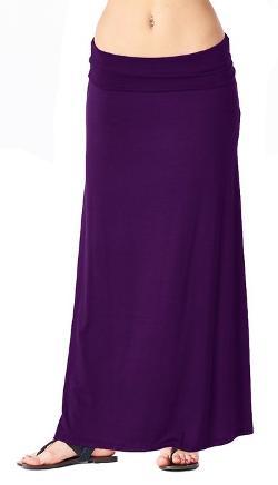 Popana - Regular and Plus Size Comfortable and Versatile Maxi-Skirt