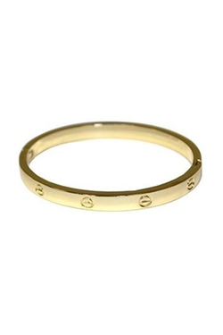 Gussy Up! - Hinged Bangle Bracelet