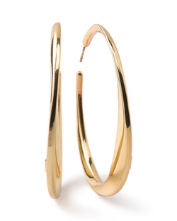 Ippolita - Glamazon Heavy Bottom Hoop Earrings