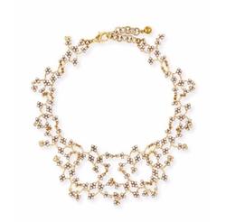 Lulu Frost - Jackie Crystal Web Necklace