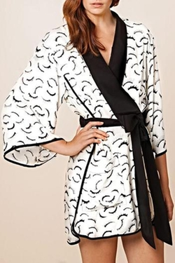 Dear Bowie - Kimono Eyelash Robe