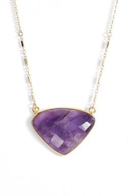 Sonya Renee - Semiprecious Stone Pendant Necklace