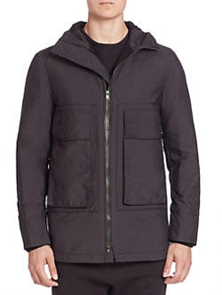 Helmut Lang - Short Hooded Parka Jacket