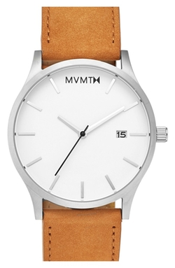 MVMT  - Leather Strap Watch
