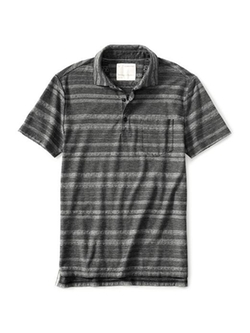 Banana Republic - Heritage Jacquard-Stripe Polo Shirt