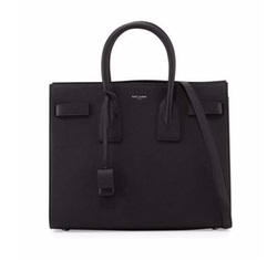 Saint Laurent - Sac De Jour Grain Leather Tote Bag