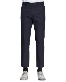 Maison Martin Margiela  - Slim-Fit Trousers, Navy