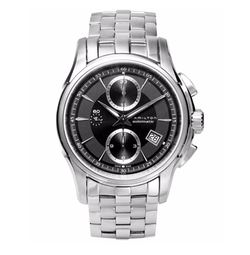 Hamilton - Swiss Chronograph Jazzmaster Stainless Steel Bracelet
